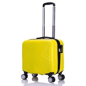 18寸 ファッション すがすがしい 万向輪 スーツケース 斜め十字の模様 スーツケース 軽量 小型 フロントオープン 旅行 出張 軽量 静音