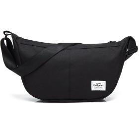 クロース(Kroeus)斜め掛けバッグ メンズ 軽い 小物入れ ipad収納 多機能 カジュアル ショルダーバッグ 斜めがけ ボディバッグ 人気 ファッション 男女 お出かけ 出張 旅行 アウトドア活動 6色 ブラック