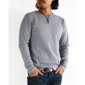 (アーケード) ARCADE ワッフル Tシャツ サーマルロンT ロングT LL 杢グレー