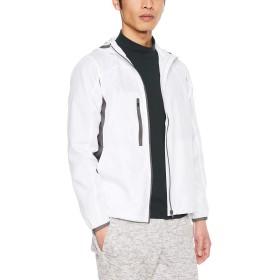 [ユナイテッド アスレ] マイクロリップストップジップジャケット 706701 メンズ ホワイト 日本 S (日本サイズS相当)