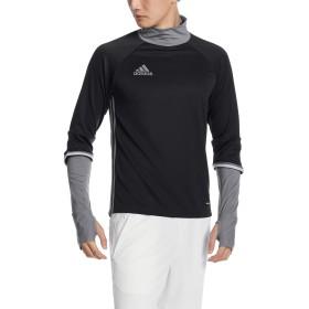 (アディダス)adidas サッカーウェア Condivo16 ハイブリッド フィットトップ ABK08 [メンズ] S93543 ブラック/ダークグレー J/L