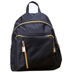 CXUNKK ショルダーバッグファッションカジュアルバッグ (Color : Black, Size : 261621CM)
