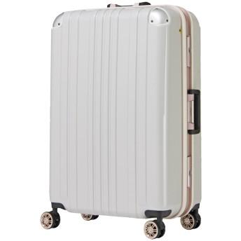 [アウトレット品]【レジェンドウォーカー】LEGEND WALKER スーツケース アルミフレーム ダブルキャスター 鏡面ボディ TSAロック 軽量 Lサイズ W-5122-68[アウトレット品]【レジェンドウォーカー】LEGEND WALKER スーツケース アルミフレーム ダブルキャスター 鏡面ボディ TSAロック 軽量 Lサイズ B-5122-68 ホワイトカーボン