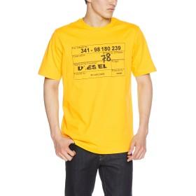 (ディーゼル) DIESEL メンズ Tシャツ 00SHYM0CATM XS イエロー 23D