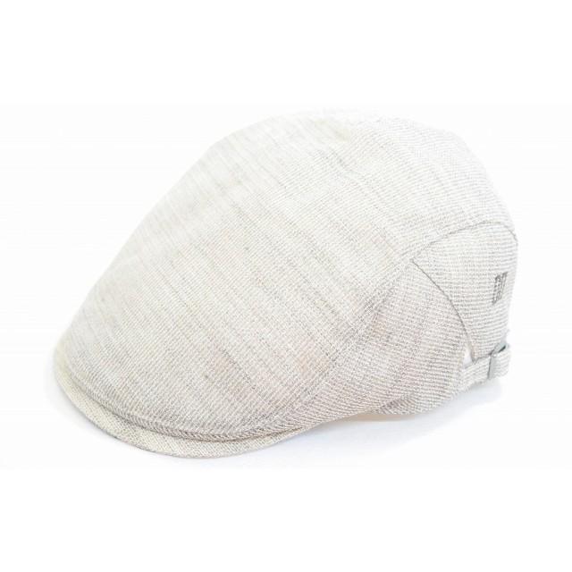 (ダックス)DAKS 真夏に最適メッシュ ハンチング 帽子 メンズ 紳士 ハットD1310 オールメッシュ 涼しい帽子 日除け 紫外線対策 UVケア ファッション カジュアル シンプル ネット通販 春夏 (M 56.5cm, キナリ)