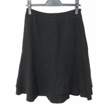 トゥービーシック TO BE CHIC スカート サイズ40 M レディース 美品 黒 ラメ【中古】20190702
