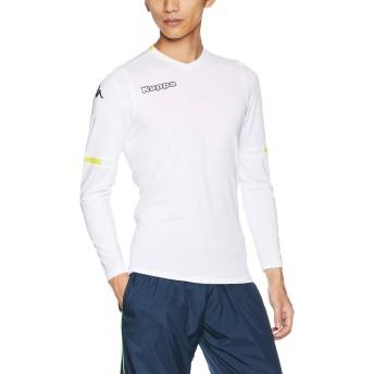 [カッパ] 長袖プラクティスシャツ メンズ KF852TL01 WT 日本 L (日本サイズL相当)