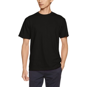 [プリントスター] 半袖 5.6オンス へヴィー ウェイト Tシャツ 00085-CVT  ブラック XL (日本サイズXL相当)