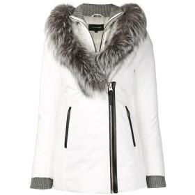 Mackage ファートリム パデッドジャケット - ホワイト