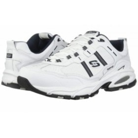 SKECHERS スケッチャーズ メンズ 男性用 シューズ 靴 スニーカー 運動靴 Vigor 2.0 Serpentine White/Navy【送料無料】
