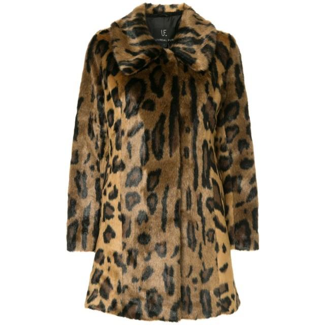 Unreal Fur Furever コート - ブラウン