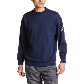 [アシックス] フィットネス スウェットシャツ XB6010 [メンズ] ネイビー 日本 2XO (日本サイズ4L相当)