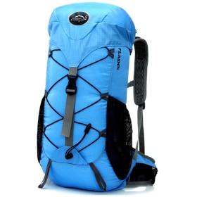 Swillchi登山リュック 40L 大容量 180°大開口 バックパック 多機能バックパック アウトドア 登山用バッグ ハイキングバックパック 防水 旅行用 両肩かけ036