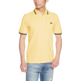 [フレッドペリー] ポロシャツ Twin Tipped Fred Perry Shirt M12N メンズ 153ICE LEMON UK 38-(日本サイズM相当)