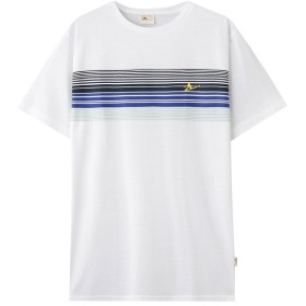 チーターファイブサーフパネルプリントTシャツ 82-7133B-NN メンズ 02シロ:XL