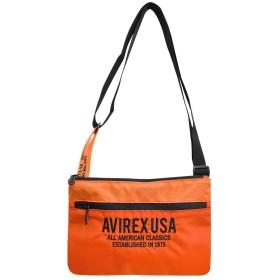 [アビレックス] AVIREX サコッシュ レディース メンズ ロゴ スポーツMIX ブランド ミリタリー ショルダーバッグ 斜めがけバッグ ミニショルダーバッグ