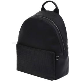 《期間限定 セール開催中》FENDI メンズ バックパック&ヒップバッグ ブラック 革