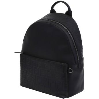 《期間限定セール開催中!》FENDI メンズ バックパック&ヒップバッグ ブラック 革