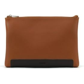 LOTUFF(ロトプ) 牛革 レザー 6 Color シンプル クラッチバッグ レザーバッグ LO-6613 メンズ レディース Genuine Leather Clutch Hand Strap [並行輸入品]
