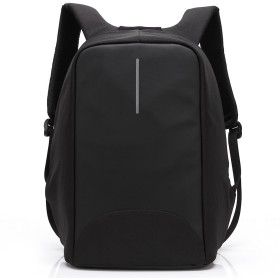 モンスター オックスフォード布大容量の男性と女性の防水バックパック、スクールバッグ、旅行バックパックは、15.6インチのラップトップ/USB充電ポートを収容することができます(ブラック)