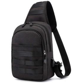 斜め掛け ボディバッグ メンズ ワンショルダー スリングバッグ ショルダーバッグ 防水 USBポート 肩掛けバッグ 軽量 メッセンジャーバッグ 大容量 iPad収納可能