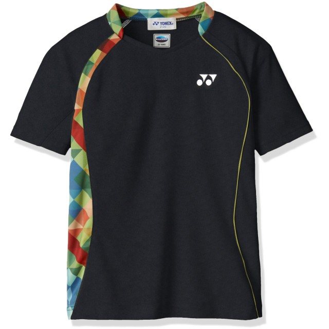 (ヨネックス)YONEX テニスウェア ゲームシャツ 10223J [ジュニア] 10223J007 ブラック J120