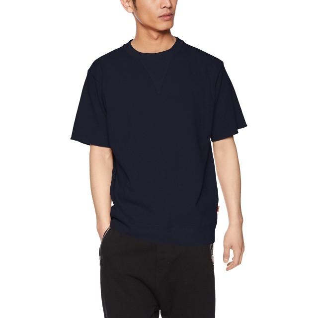 [クリフメイヤー] TOUGH TEE スウェットデザインTEE 半袖 メンズ 半袖Tシャツ ヘビーウェイト 無地 ムジ MEDIUM ネイビー
