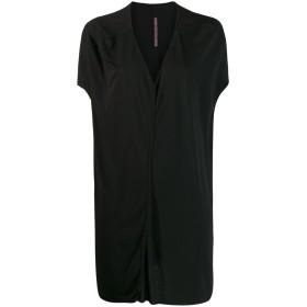 Rick Owens Lilies ドレープ Vネックドレス - ブラック