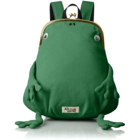 [ジムマスター] カエルガマグチミニリュック がまぐちシリーズ、fluke frog グリーン