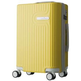 [アウトレット]スーツケース キャリーケース キャリーバッグ 機内持込サイズ パステルキャリーケース ファスナー LYRA(リラ) 48cm グレー (B-5105-48) キャリーケース 機内持ち込み SSサイズ 小型 イエロー