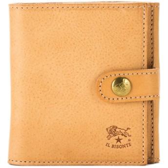 イルビゾンテ Il Bisonte 二つ折り財布 ウォレット C0955 ナチュラル(120) 財布 レザー 革 [並行輸入品]