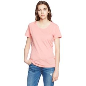 [ダルク]半袖 4.0オンス T/C ベーシック クルー Tシャツ DL201 パステルピンク XSサイズ [レディース]