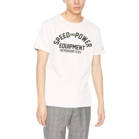[チャンピオン] Tシャツ C3-P329 メンズ オフホワイト 日本 S (日本サイズS相当)