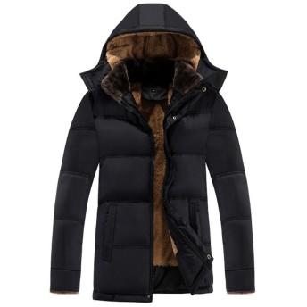 Infabe ダウンジャケット アウター コート 防寒 防風 冬 軽量 メンズ ダウンコート 裏起毛 冬の暖かい 大きいサイズ 上品 アウトドア 防寒コート 冬