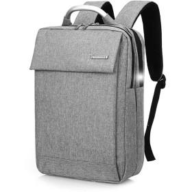 ビジネスリュック メンズ レディース pcバック 15.6インチ 撥水加工 多機能 通勤 大容量 バックパック リュックサック アウトドア Package gray