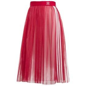 (アディダス)adidas WOMEN'S ORIGINALS オリジナルス チュースカートアディカラースカート透明スカート (90(S), PINK) [並行輸入品]