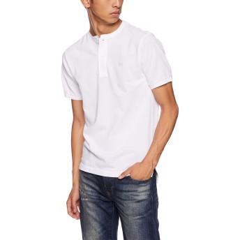 [ラコステ] ヘンリーネックポロシャツ(半袖) PH528EL メンズ ホワイト EU 004 (日本サイズL相当)