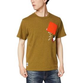 [チャムス] Tシャツ Booby Hang On T-Shirt H/Khaki 日本 M (日本サイズM相当)