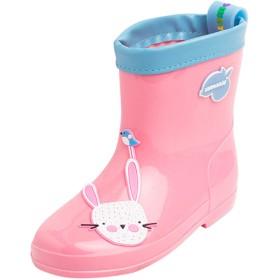 [Y-BOA] キッズ 長靴 レインブーツ レインシューズ 雨靴 キャラクター 可愛い 幼児 小学生 子供 女の子 男の子 防水 滑り止め 梅雨対策 通園 通学 アウトドア ピンク 19cm