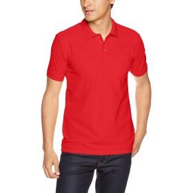 [プリントスター] 半袖 5.8オンス TC 鹿の子 ポロシャツ [ポケット付] 00100-VP メンズ ブライトレッド S (日本サイズS相当)
