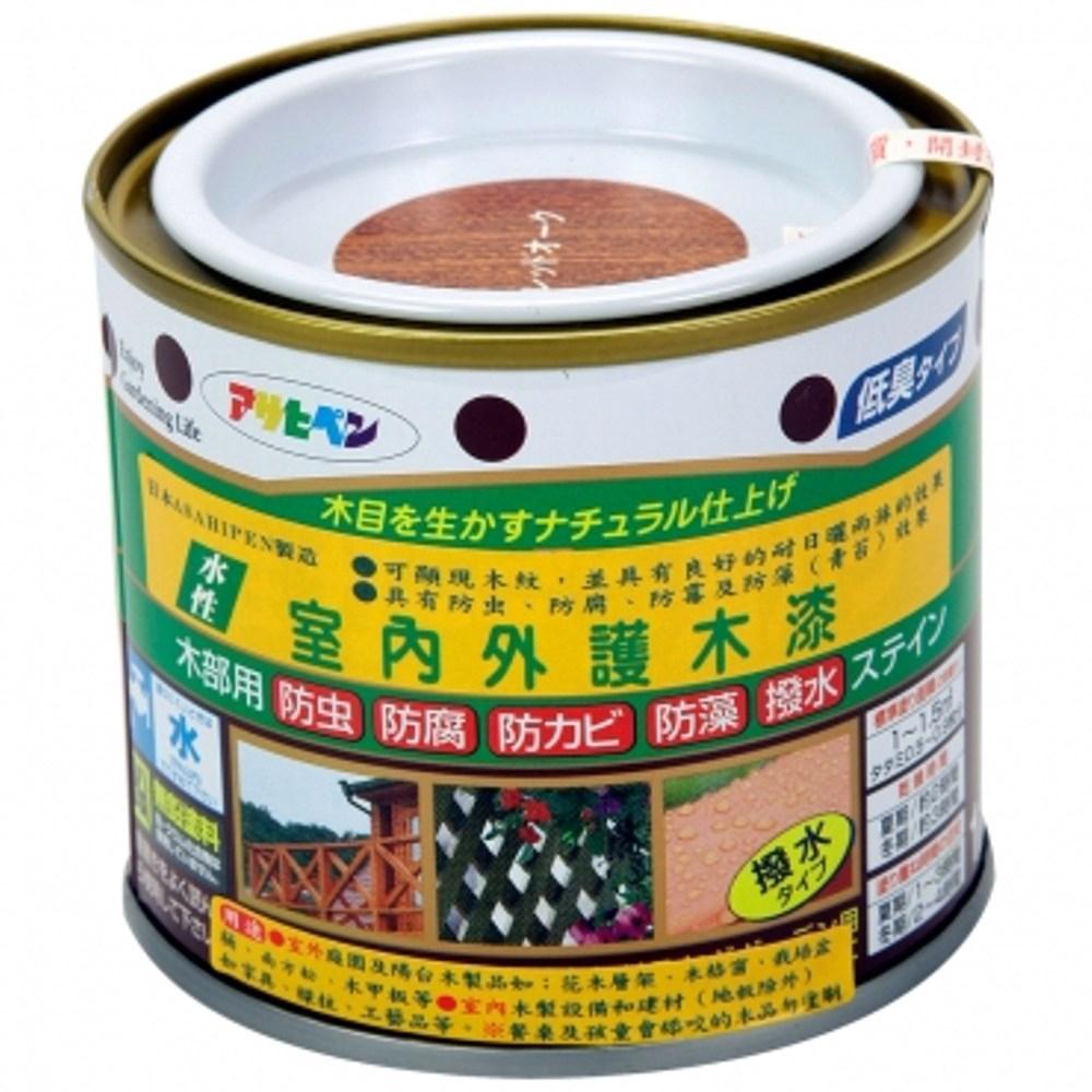 室內/庭園彩色護木漆(紅橡) 200ml