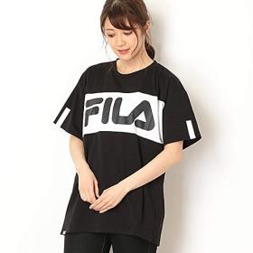 フィラ(FILA) ビックシルエットフロント切替Tシャツ【ブラック/L】