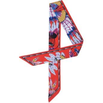 Feteso スカーフ制服用 花柄 石原さとみさん おしゃれ バッグ用 持ち手 小物 巻きつけ アクセサリー レディース おしゃれ 優雅 カバン ハンドル リボンスカーフ バッグルの装飾 Fashion Ladies Scarf