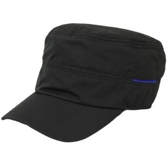 レインキャップ ワークキャップ 撥水加工 ゴルフ 帽子 メンズ レディースBCH-30110 16ブラック