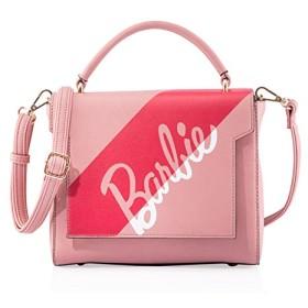 Barbie バービー モダンシリーズ 高級PUレザー プリント ハンドバッグ ショルダーバッグ レディースバッグ