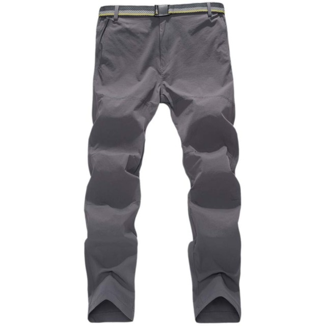 登山パンツ メンズ アウトドア トレッキングパンツ ストレッチ 速乾 撥水加工 多機能ズボン キャンプ お釣り 夏用[通気性]通気性がよく柔らかな肌触りで蒸れにくくさらりとした軽い着心地で、真夏でも快適に着用できるイージーパンツです。