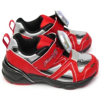 [ムーンスター] ウルトラマン スニーカー 子供 UTM145 光る靴 ウルトラマンルーブ マジック式 軽量 ウルトラマンルーブ レッド 16.0cm