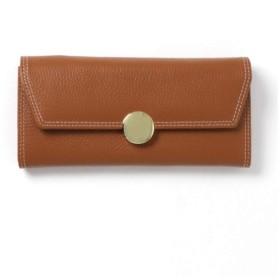 (ニノン) ninon 長財布 レディース 本革 財布 ピンク 黒 ステッチデザイン かわいい おしゃれ 大容量