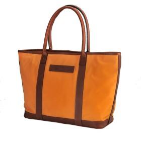 (フェリージ) Felisi メンズ 肩にかけられる大振り型 トートバッグ 正規取扱店 オレンジ