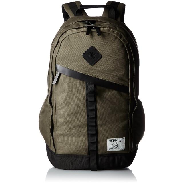 [エレメント] リュック 20L (ノートパソコン 収納可能) キャンバス 素材 [ Cypress ELETE BPK / AG021-906 ] バッグ デイパック MOS/モスグリーン